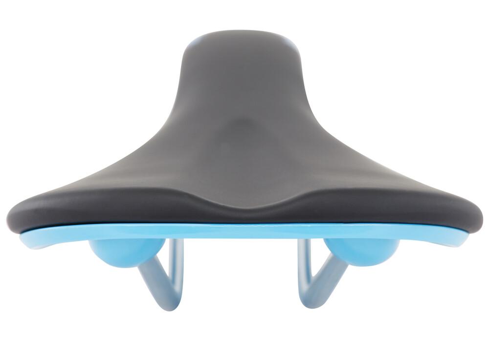 Fabric Scoop Flat Elite zadel blauw/zwart I Voordelig ...